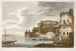 A View of the Ruins of a Palace at Gazipoor on the River Ganges(019XZZ000000307U00007000)